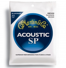 Martin MSP4250 Bluegrass Phosphor Bronze Σετ Ακουστικής (13-56)