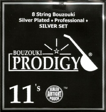 PRODIGY Silver Σετ Χορδές 8χορδου Μπουζουκιού