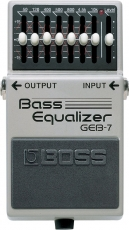 Πετάλι BOSS GEB-7 Bass Equalizer