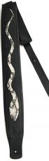 Δερμάτινη ζώνη κιθάρας Minotaur snake padded