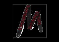 Ζώνη κιθάρας Dunlop Flambé Red