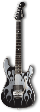 Charvel Pro Mod San Dimas Wild Card#8 Chrome Rod Flame