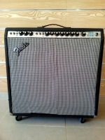 1970s Fender Silverface Super Reverb 4 x 10 Amplifier