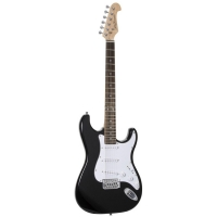 Jack and Danny Strat Rock RW BK Black