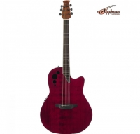 Ovation APPLAUSE Elite Ruby Red AE44II-RR