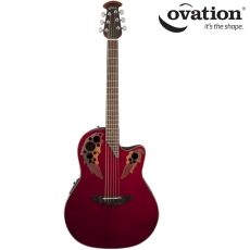 Ovation Celebrity Elite Ruby Red CE44-RR