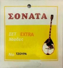 Σονάτα Extra χορδές 6χορδου τζουρά