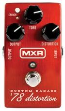 Πετάλι MXR M78 '78 Custom Bad Ass Distortion