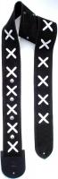 Δερμάτινη ζώνη κιθάρας Minotaur Hendrix black & white x