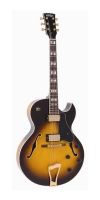 Vintage Semi Acoustic VSA575 Tobacco Sunburst