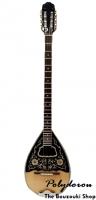 Μισομπούζουκο 8χορδο (4χορδο) - 3Μ Black Pearl