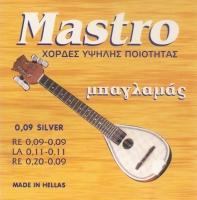 Σετ χορδές Μπαγλαμά Mastro Silver
